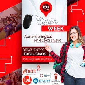 Cyber Monday Viajes de estudios en el extranjero