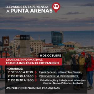 Punta Arenas / Seminario Estudiar inglés y trabajar en el extranjero