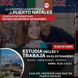 PUERTO NATALES: Intercambio al Extranjero | Estudiar inglés y trabajar en el extranjero