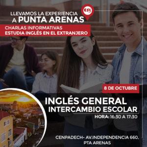 Punta Arenas: Estudia inglés e intercambio escolar en el extranjero