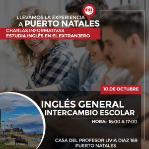 PUERTO NATALES: Seminario intercambio escolar, Estudiar inglés en el extranjero