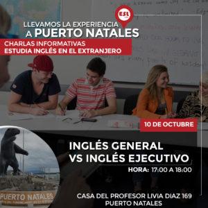 Puerto Natales: Seminario intercambio para aprender ingles en el extranjero y expandir tus oportunidades
