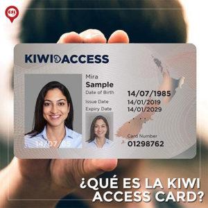 ¿Qué es la tarjeta Kiwi Access